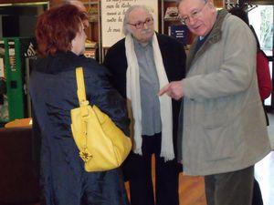Petit déjeuner conférence à Florange avec Michel PRINTZ de Serémange et Alphonse PENSA d'Algrange