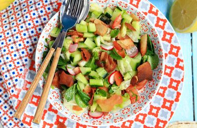 Salade fattouch, la salade libanaise