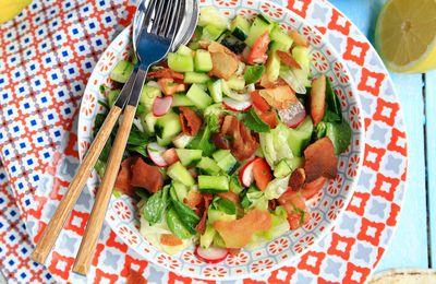 Salade fattouch, la salade libanaise