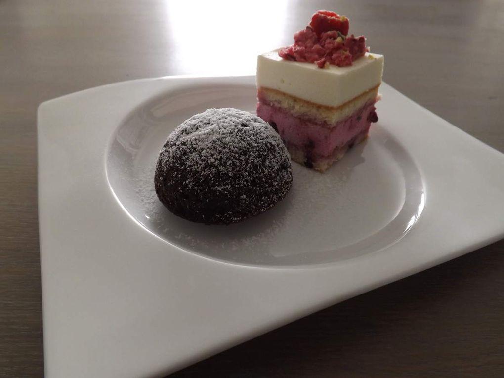 Moelleux au chocolat et framboises (recette rapide et facile)