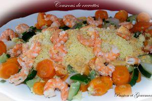 Couscous de Crevette et sa Bisque