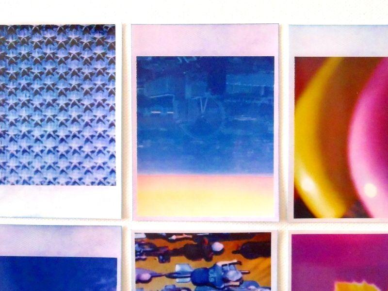 Polaroid - pictures on canvas ; 100*100 cm