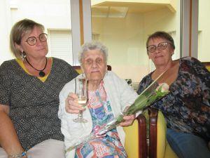 Début septembre à la maison de retraite
