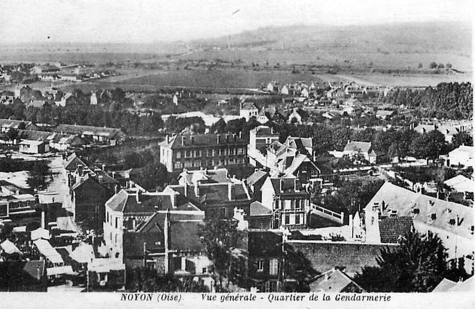 Album - la ville de Noyon, (Oise), vue générale