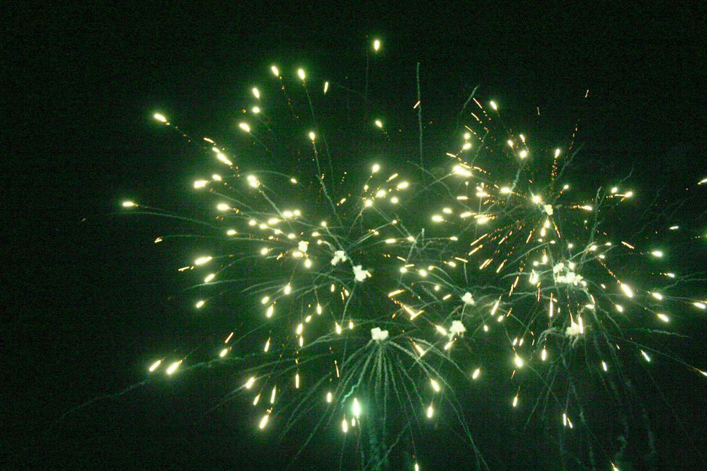 Comme chaque année, un super 14 juillet à Dompierre. Cette année, cabaret, bal et bien sûr le traditionnel feu d'artifice