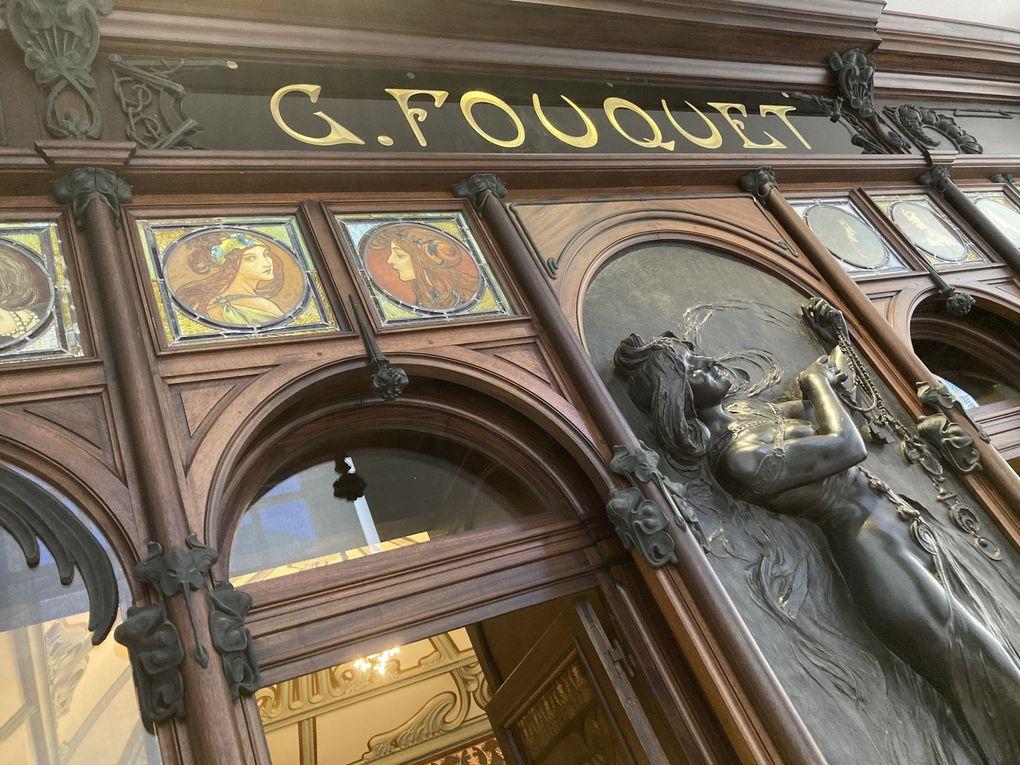 1901 Bijouterie Fouquet décorée par Alfons Mucha