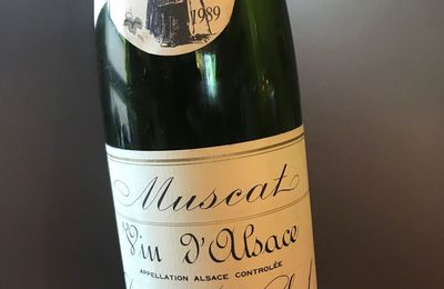 Alsace Muscat 1989 Domaine Weinbach