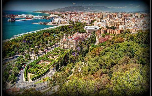 """Malaga sur la """" Costa del Sol """"..."""