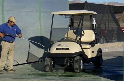 Clean Your Golf Cart