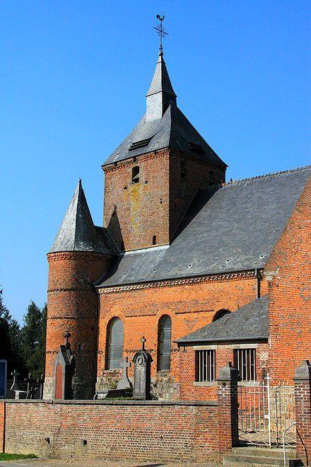 Diaporama église fortifiée  d'Autreppes