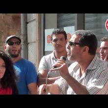 Manifestation de soutien à Arezki à Manosque