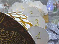 Buche - Calendrier - Avent - 2019 - Noel - Boite - 24 - Décembre - Cadeau - Dies - Foil - Glacage