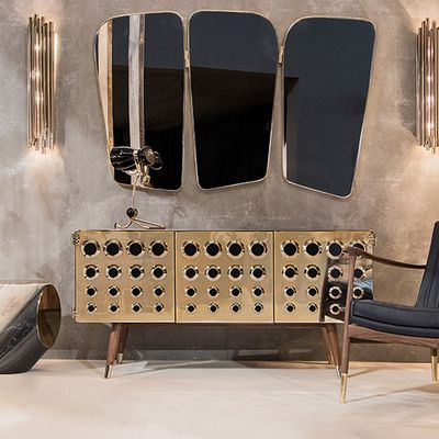 ESSENTIAL HOME, MID CENTURY FURNITURE PROPOSE A COMBINATION FULL OF REFERENCES FOR YOUR INTERIOR !