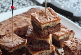 Bouchées double saveur chocolat, double plaisir