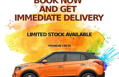 Book Now And Get Immediate Delivery Hyundai Creta The Perfect SUV.