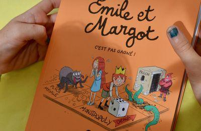 EMILE ET MARGOT : c'est pas gagné! BD KIDS
