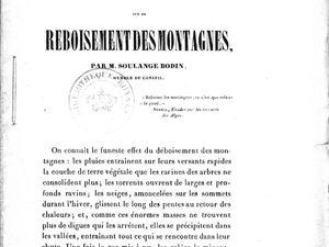 Un rapport rédigé par Soulange-Bodin - L'Institut vendait également ses productions par correspondance.