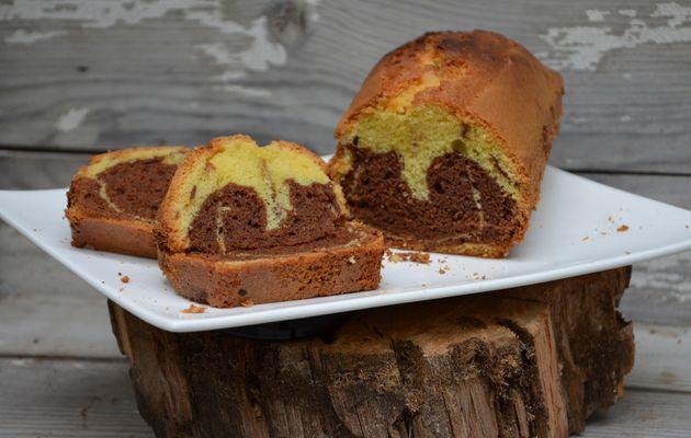 Cake marbré au Gianduja