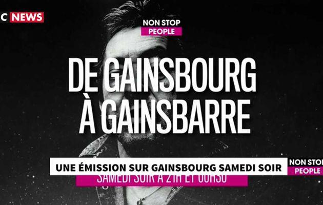 """Demain soir à 21h sur Non Stop People : """"Histoires de stars - Serge Gainsbourg"""""""