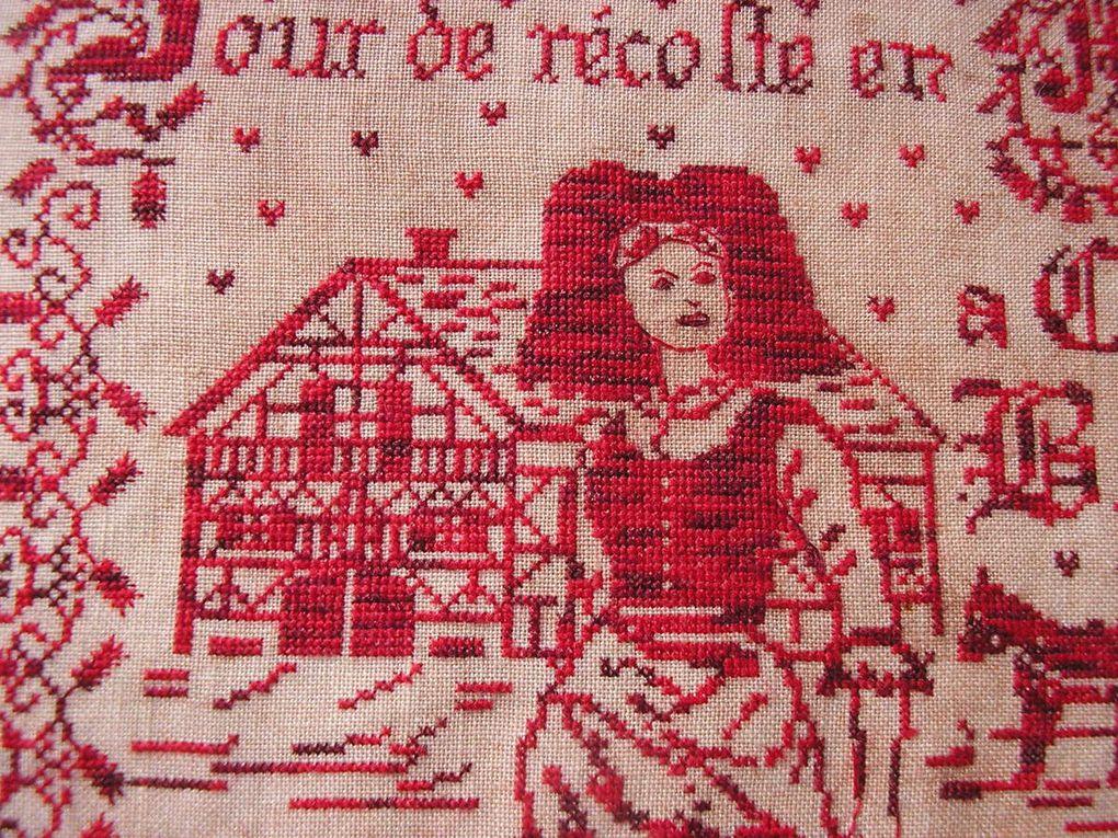 """""""Jour de récolte en Alsace"""" de Annick Abrial"""