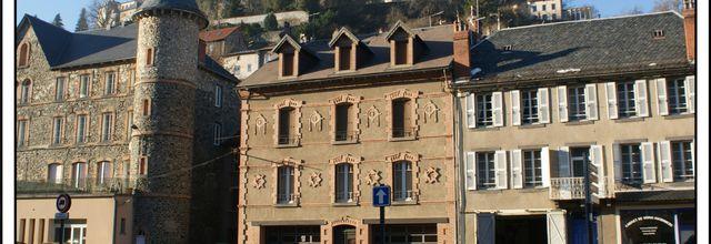 Les villes du Cantal: Saint Flour