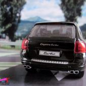 PORSCHE CAYENNE NOIR TURBO 2002 CORGI 1/43 - car-collector.net