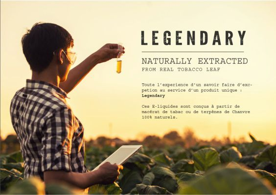Test - Eliquide - Cubano Blend gamme Legendary de chez J Well