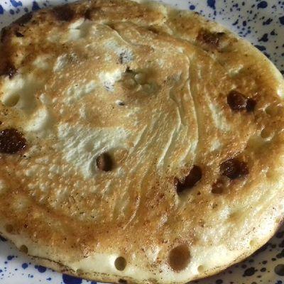 Pancakes aux pépites de chocolat et gingembre