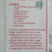 Livre Recettes Brodées de Mamigoz : Les Beignets d' Acacias - Chez Mamigoz