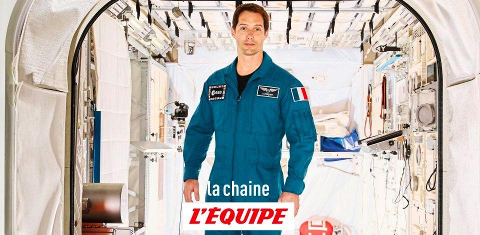 Le départ de Thomas Pesquet pour l'ISS à suivre ce vendredi sur la chaine L'Équipe