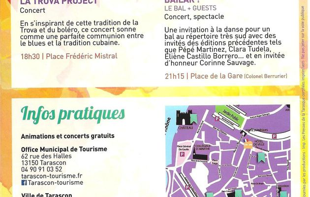 Concert Latinos et Caliente samedi 26 août