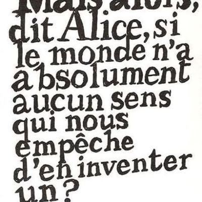 Alice au Pays des Merveilles - Citation <3