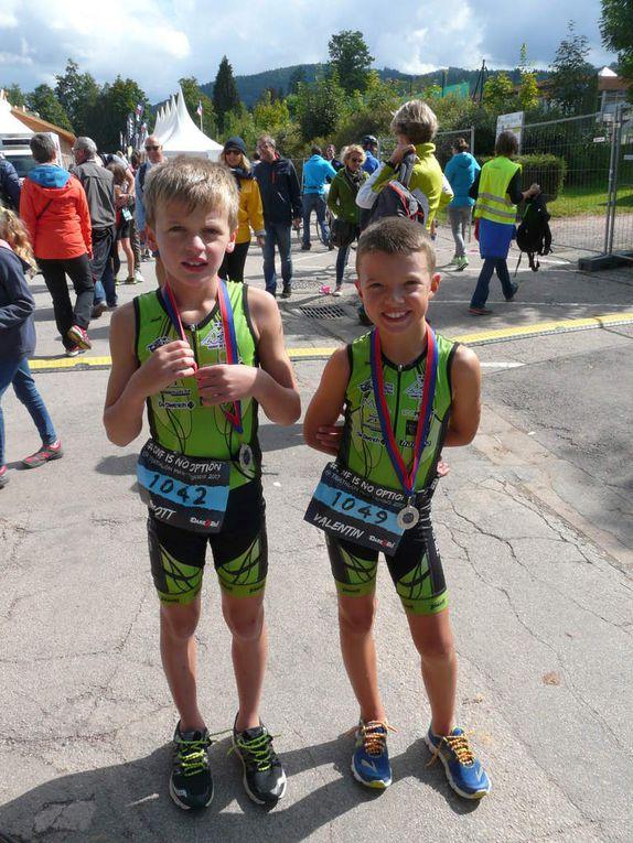 Triathlon Gérardmer 2017, Nos Triathlètes figurent bien!