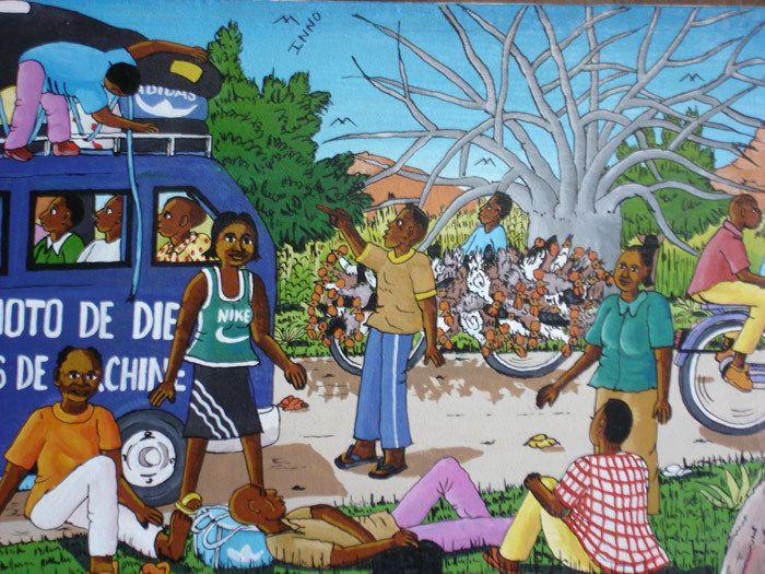 Un peintre au Burkina Faso - Inoussa Simporé
