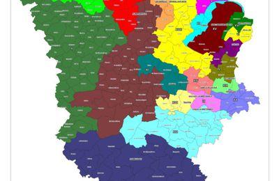 La nouvelle carte des cantons yvelinois