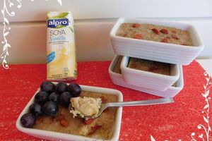 Porridge aux baies de Goji