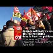 Fonction publique - 29 novembre, journée nationale d'expression des revendications