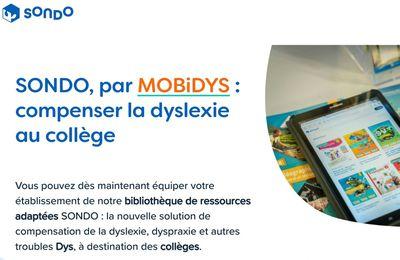 SONDO, la bibliothèque numérique des collèges inclusifs et ses300 livres numériques gratuits pour enfants dyslexiques