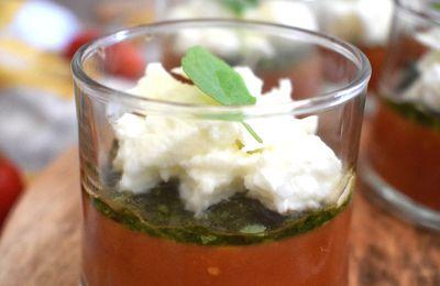 Verrines couleurs et saveurs italiennes
