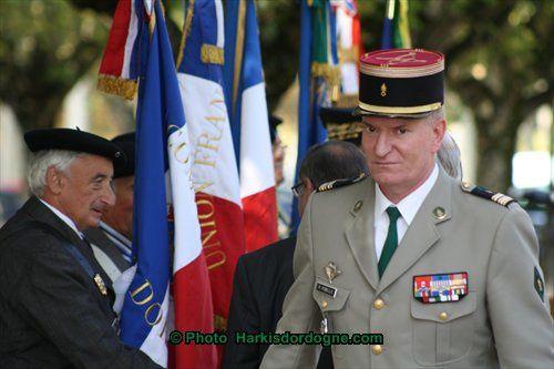 Cérémonie Journée des Harkis 2011 et 2012 Dordogne , Allée Tourny Périgueux.