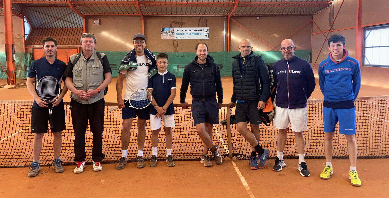 De gauche à droite : Alexis Guiheneuf, Sylvain Bouvier, Benjamin et Louis Henriet.