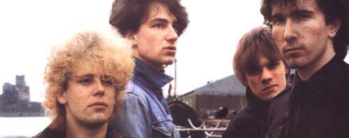 U2 -October Tour -28/10/1981 -Leiden -Pays-Bas -Stadsgehoorzaal