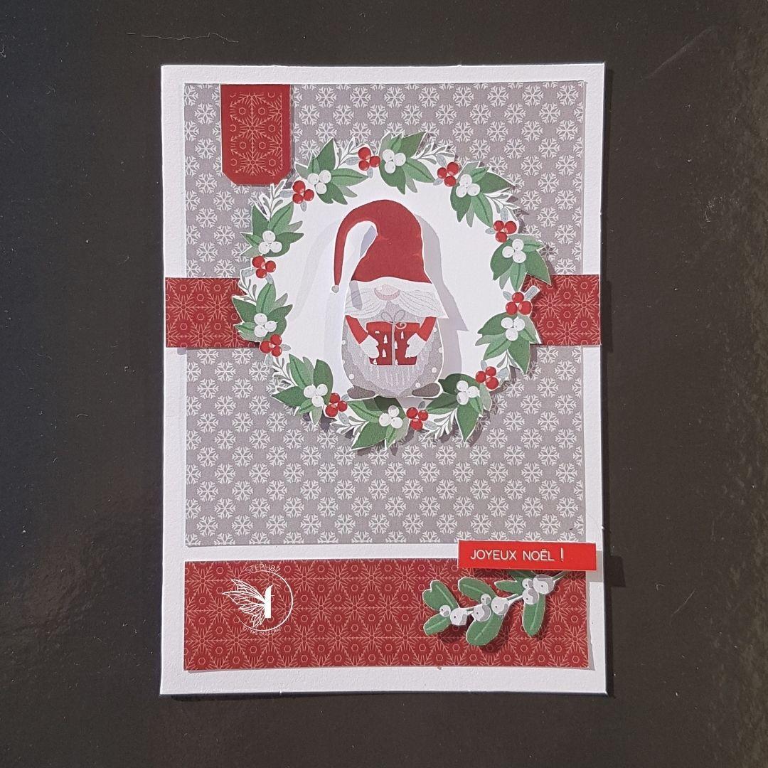 Stephscrap87....4 cartes de Noël