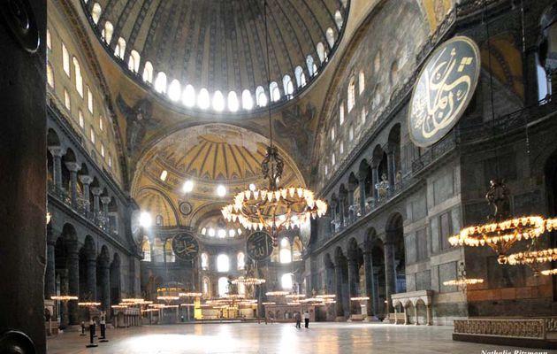 Sainte-Sophie à Istanbul, un lieu de rendez-vous avec la planète
