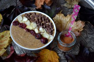 Porridge potimarron sarrasin {overnight porridge}