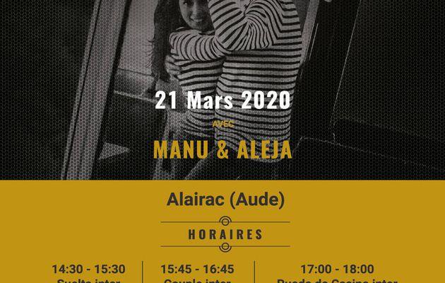 Salsa à Alairac, stage et soirée...