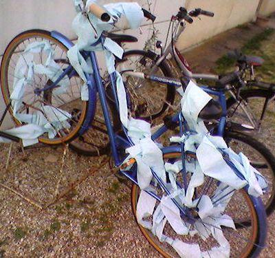 Quand un vélo fait caca...