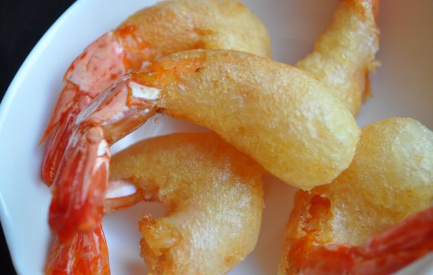 Beignets de crevettes croustillants, le secret...