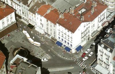 Grenoble à vol d'oiseau en 1990