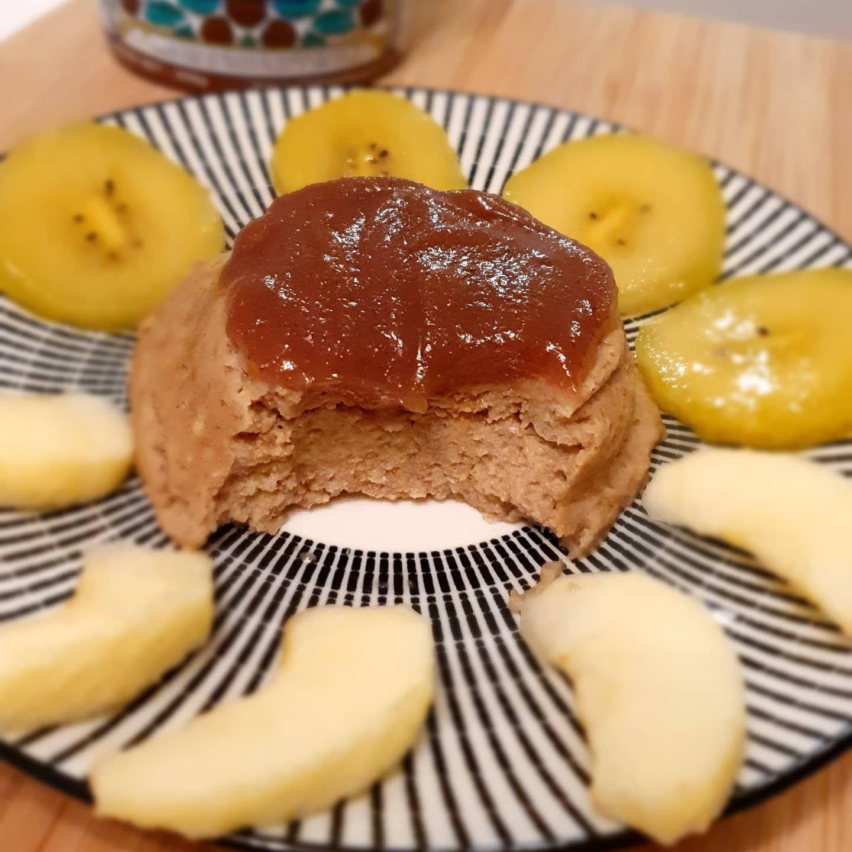 Bowlcake châtaigne et pomme